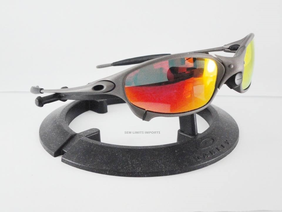 be160bbecbdb1 oculos oakley juliet x metal e ruby. Carregando zoom.