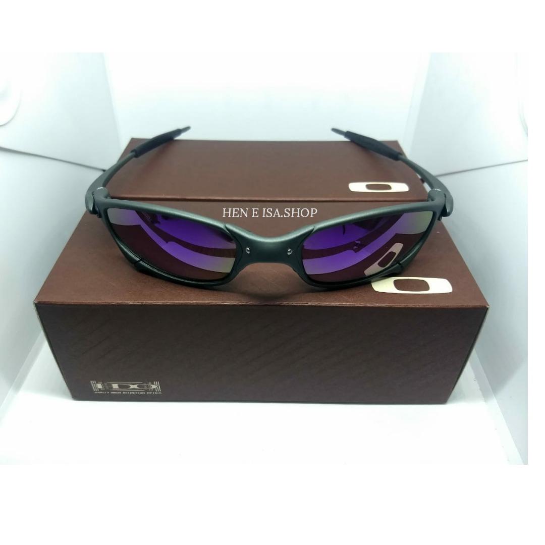 a2116fc15 oculos oakley juliet x-metal roxa + teste + certificado. Carregando zoom.