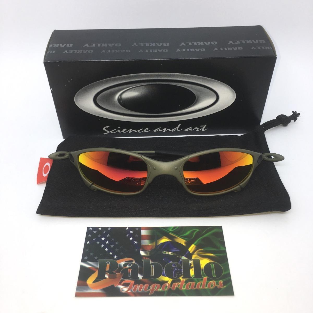 Óculos Oakley Juliet X-metal - Ruby Iridium - R  189,90 em Mercado Livre 8fcca50351