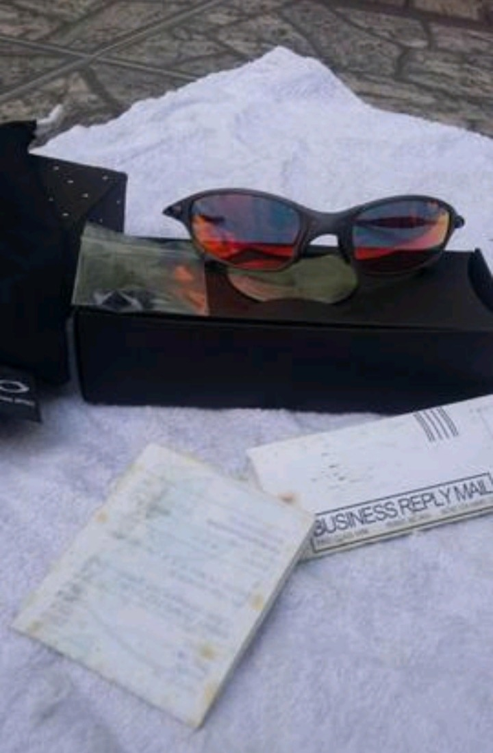 f5654248a Óculos Oakley Juliet X Metal Ruby Original - R$ 2.500,00 em Mercado ...