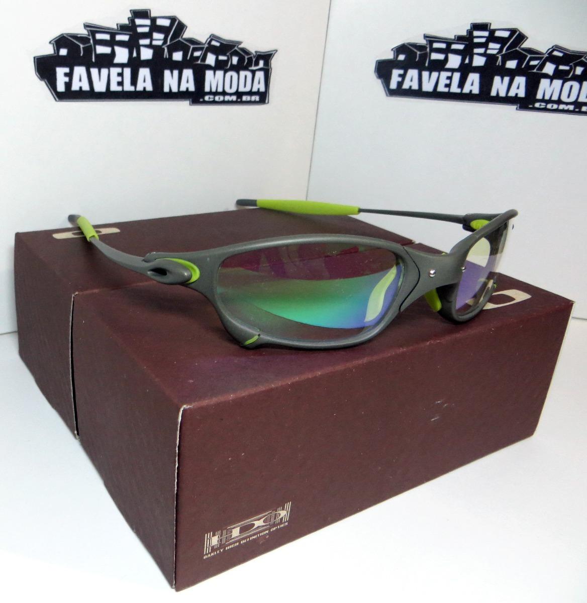 ea5f018ebfe99 Óculos Oakley Juliet   Xmetal   Clear Verde + Par De Lentes - R  179 ...