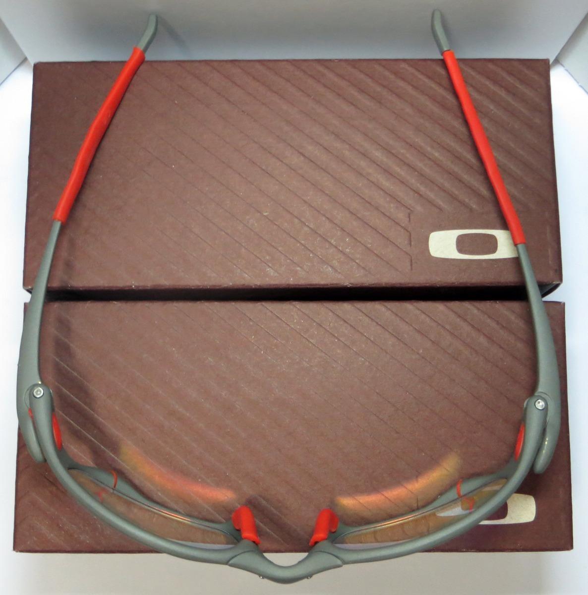 óculos oakley juliet   xmetal   clear verm. + par de lentes. Carregando  zoom. f497612c6a