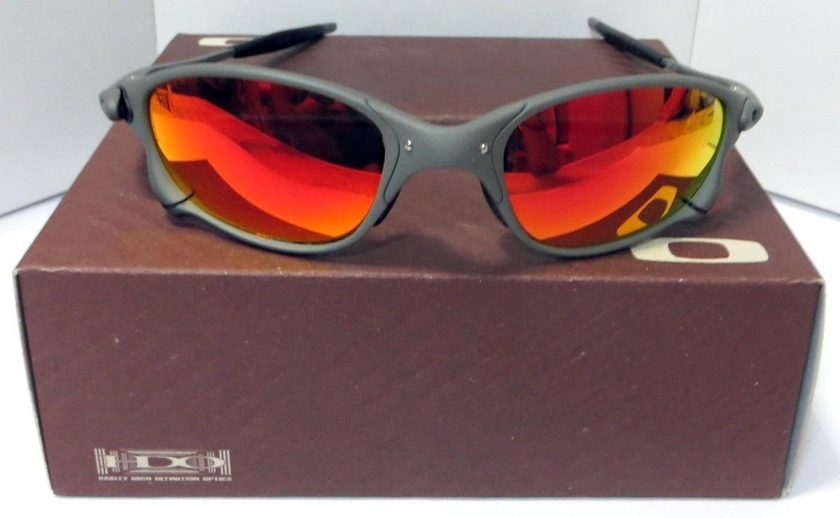 ac6cfc572 Óculos Oakley Juliet Xmetal Lente Ruby Envio Imediato - R$ 260,00 em ...