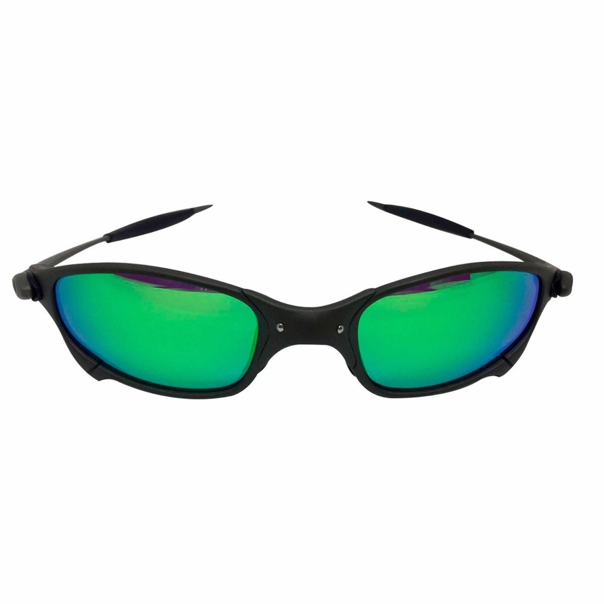 oculos oakley juliet xmetal lente verde g26 polarizadas. Carregando zoom. 219ec04d1f
