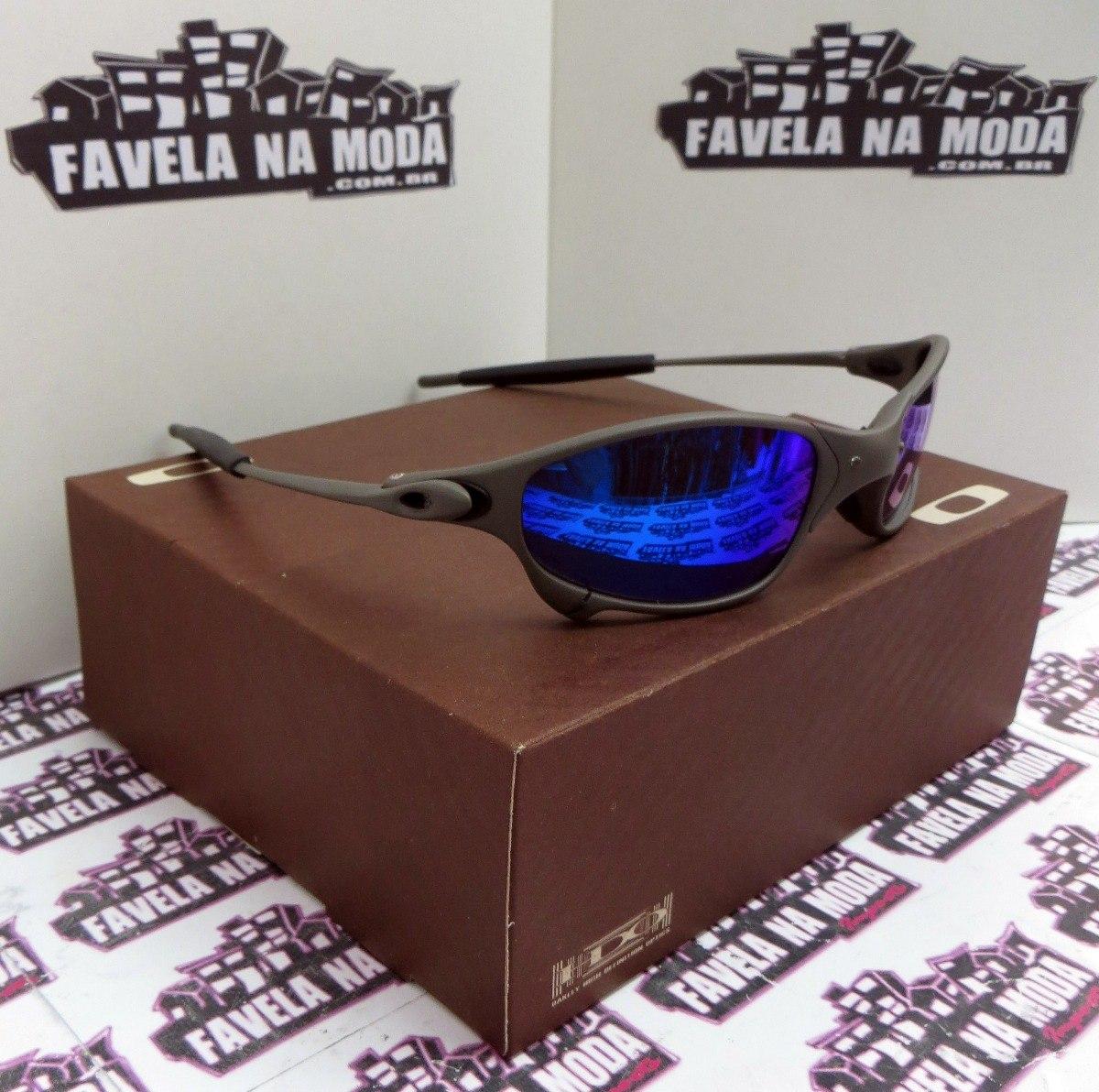 óculos oakley juliet   xmetal   magic blue + par de lentes. Carregando zoom. 43dd372ad6