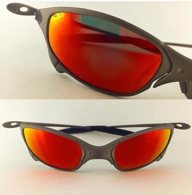 2e3a094c8 Óculos Oakley Juliet Xmetal Red Original - R$ 1.100,00 em Mercado Livre