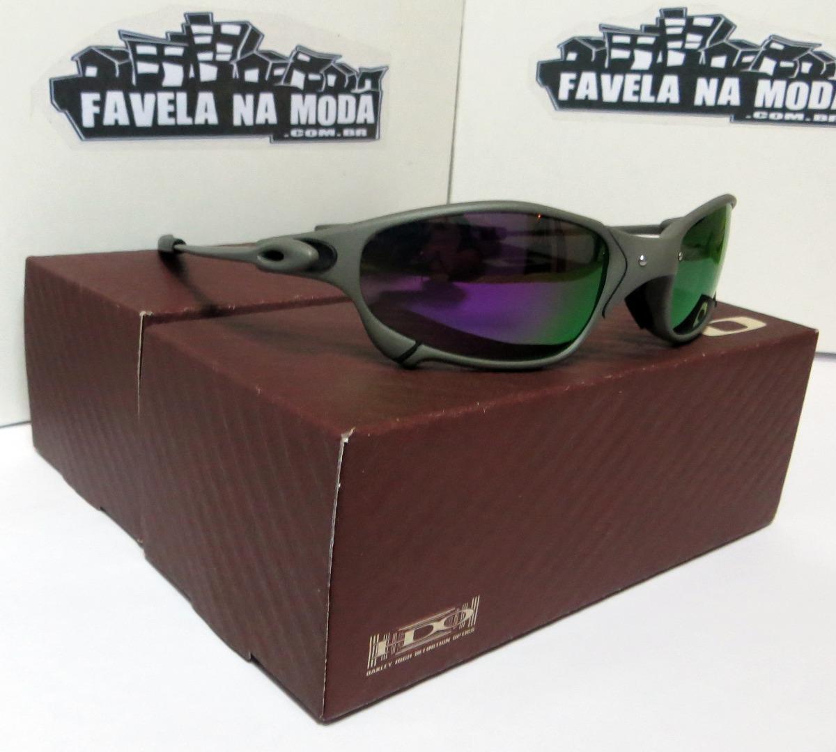 Óculos Oakley Juliet   Xmetal   Violet   Preta + Par Lentes - R  179 ... 9b53059d4a
