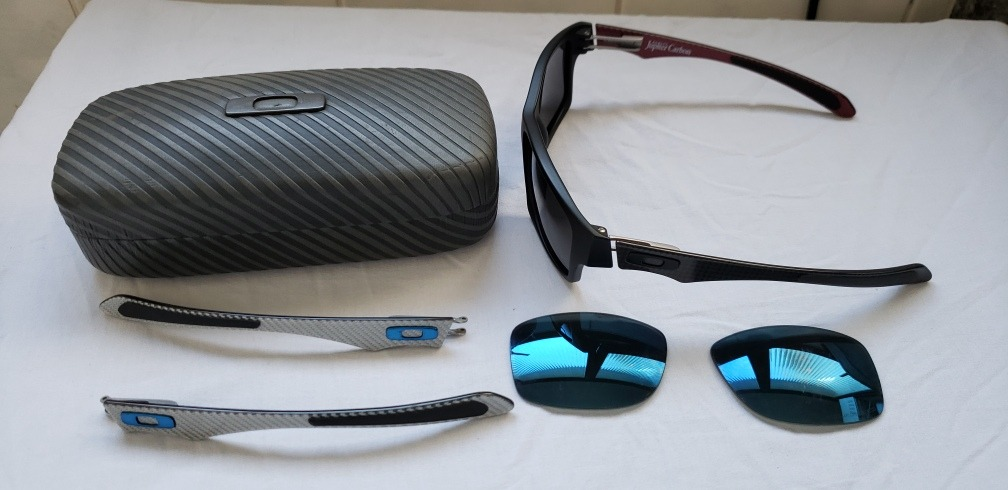 Óculos Oakley Jupiter Carbon - R  980,00 em Mercado Livre 6a97047e4e