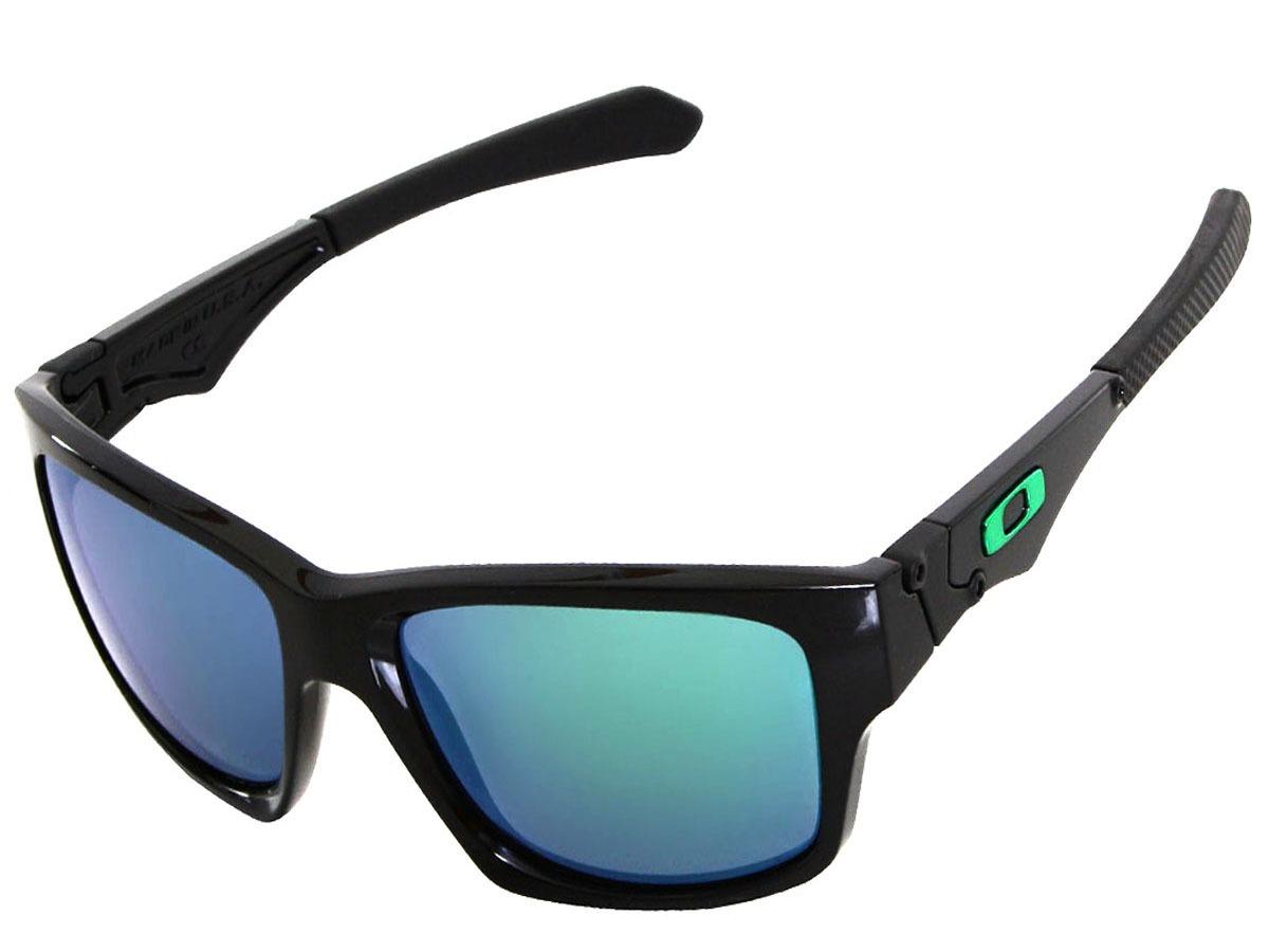 0b0f10689e146 Óculos Oakley Jupiter Squared Polished Black lente Jade Irid - R ...