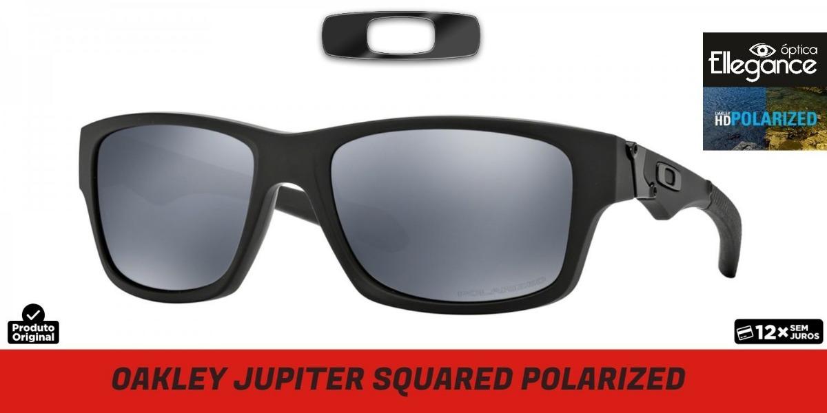 96ced82b3d079 óculos oakley jupiter squared oo9135-09 - polarizado. Carregando zoom.