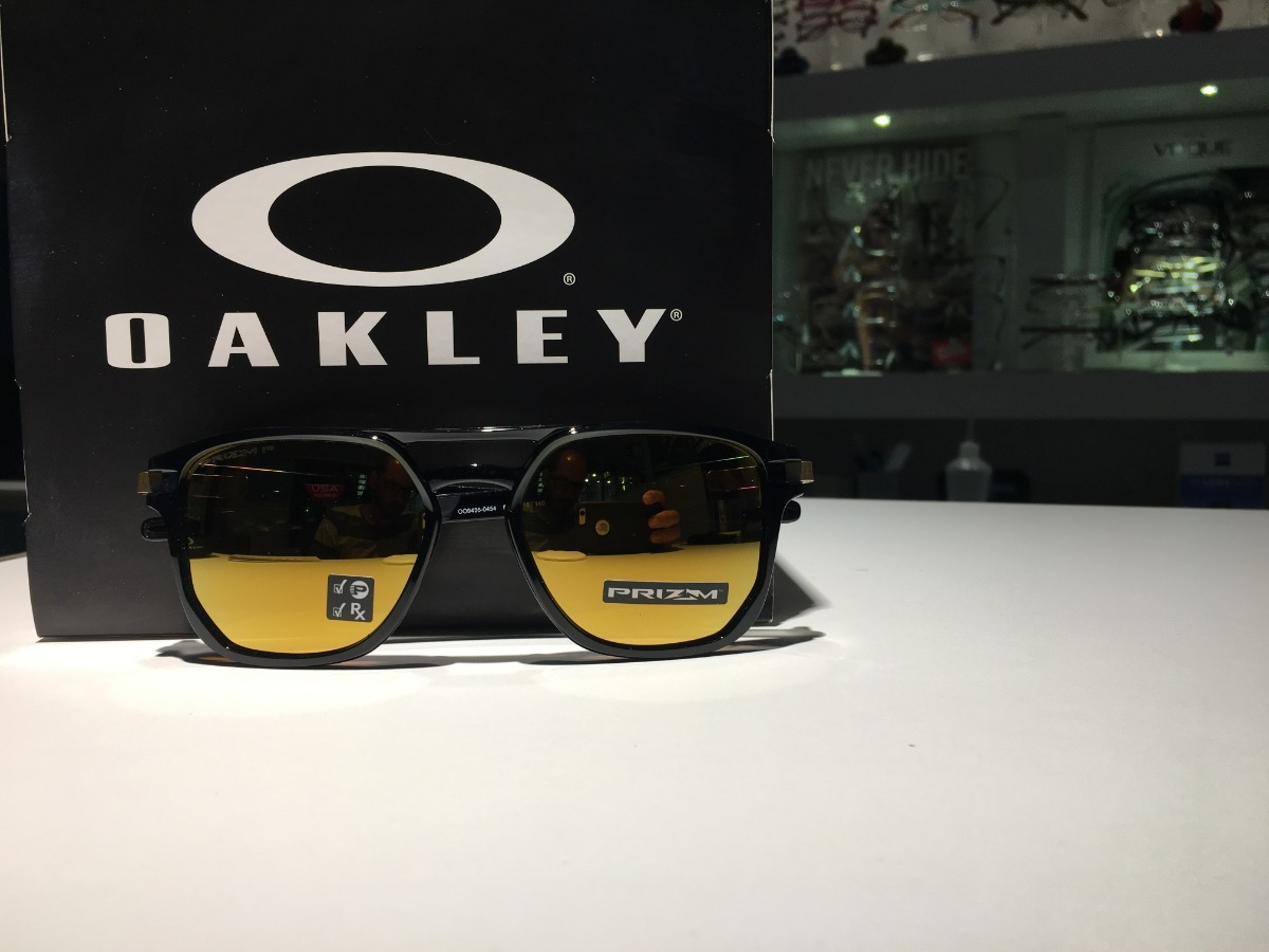 2514119392f5d Oculos Oakley Latch Beta Lente Prizm 24k Polarizada - R  589,00 em ...