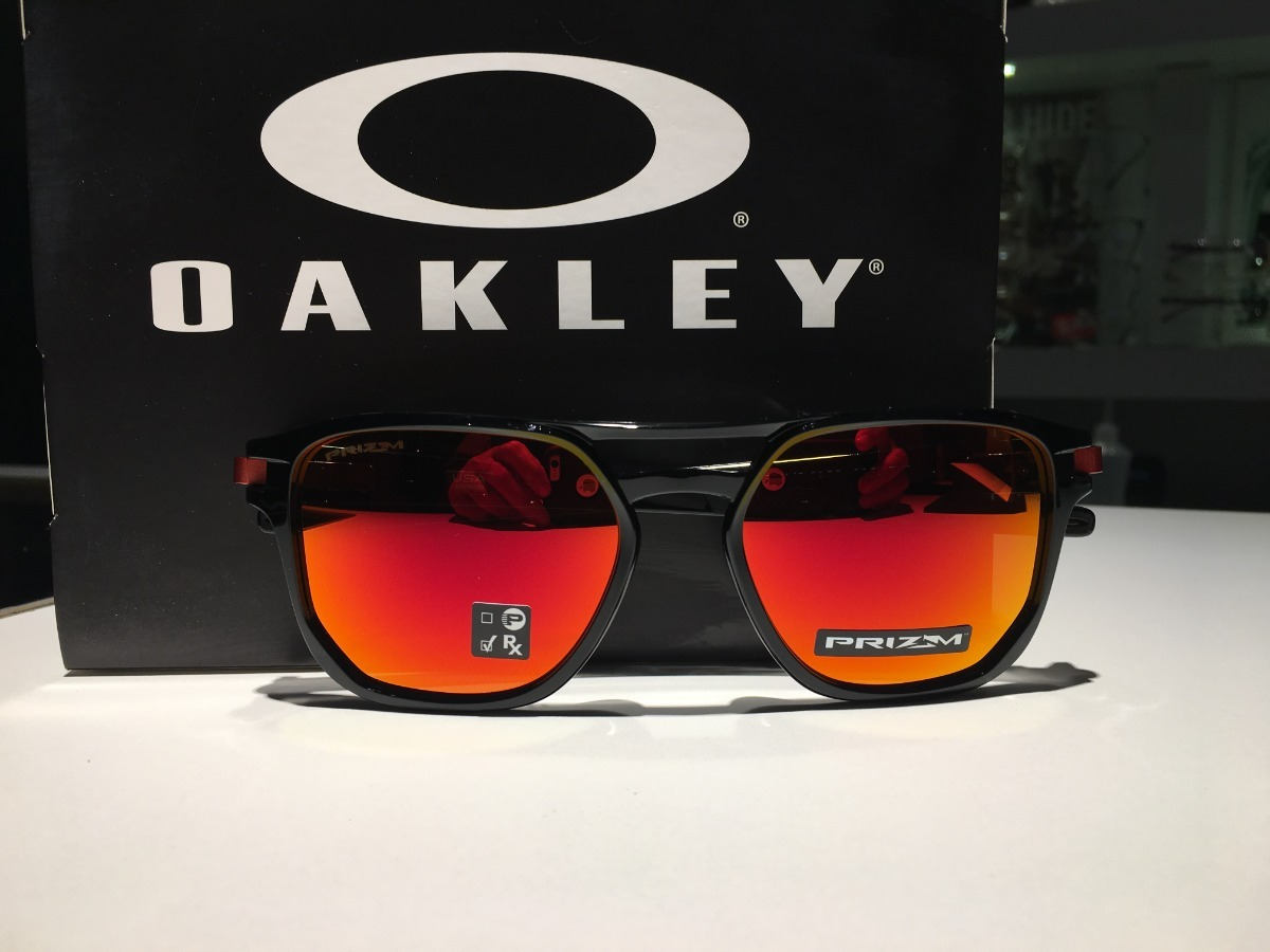 bc0650f893 Oculos Oakley Latch Beta Lente Prizm Ruby Lancamento - R$ 449,00 em ...