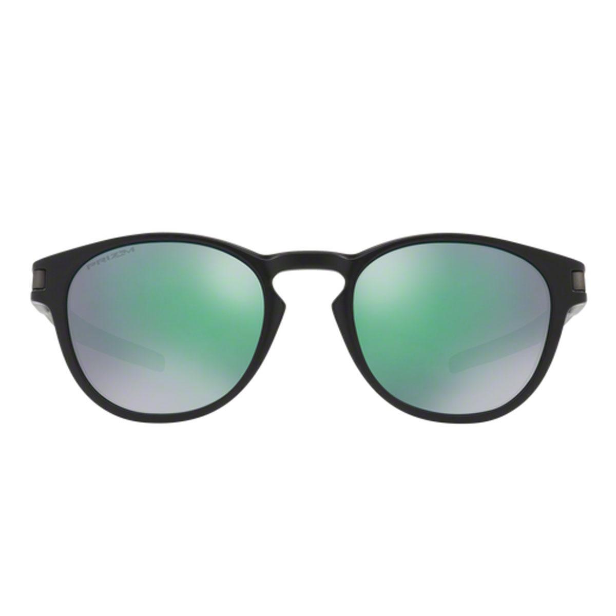 e8cd8183432ed Óculos Oakley Latch Matte Black lente Prizm Jade Iridium - R  549