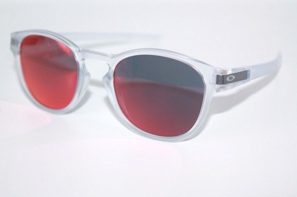 c04275a11 Oculos Oakley Latch Matte Clear Torch Iridium Frete Gratis - R$ 459,90 em  Mercado Livre