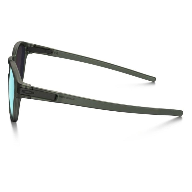 7c2806007ebab Óculos Oakley Latch Matte Olive Ink   Emerald Iridium - R  484,00 em ...