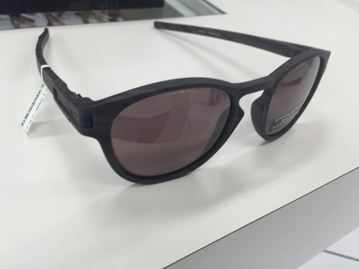 f6c8545431d3f oculos oakley latch oo9265-12 woodgrain prizm daily polarize. Carregando  zoom.