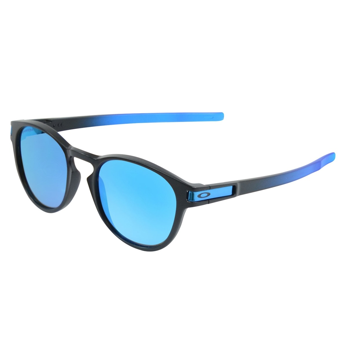 045fe0242e130 Óculos Oakley Latch Prizm Espelhado Preto L Azul - R  670,00 em ...