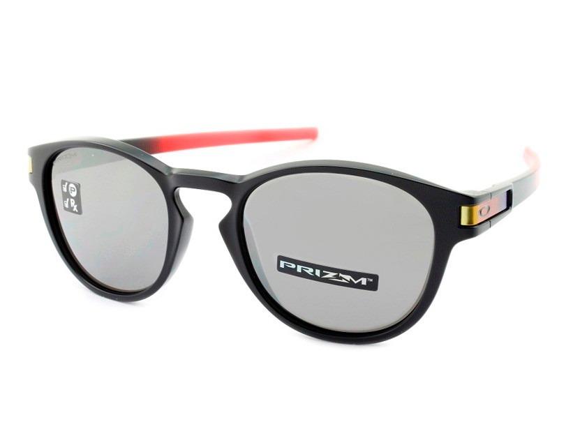 óculos oakley latch ruby fade prizm black polarizado oo9265. Carregando  zoom. 2336db25c9