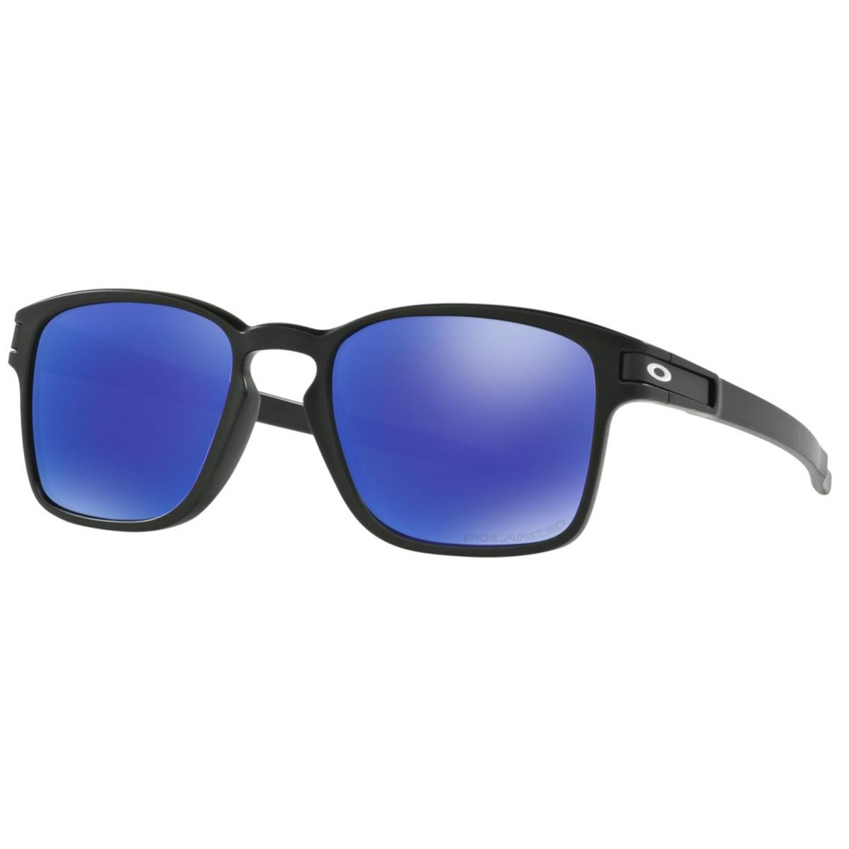 397eb34d6e óculos oakley latch square matte black  lente violet iridium. Carregando  zoom.