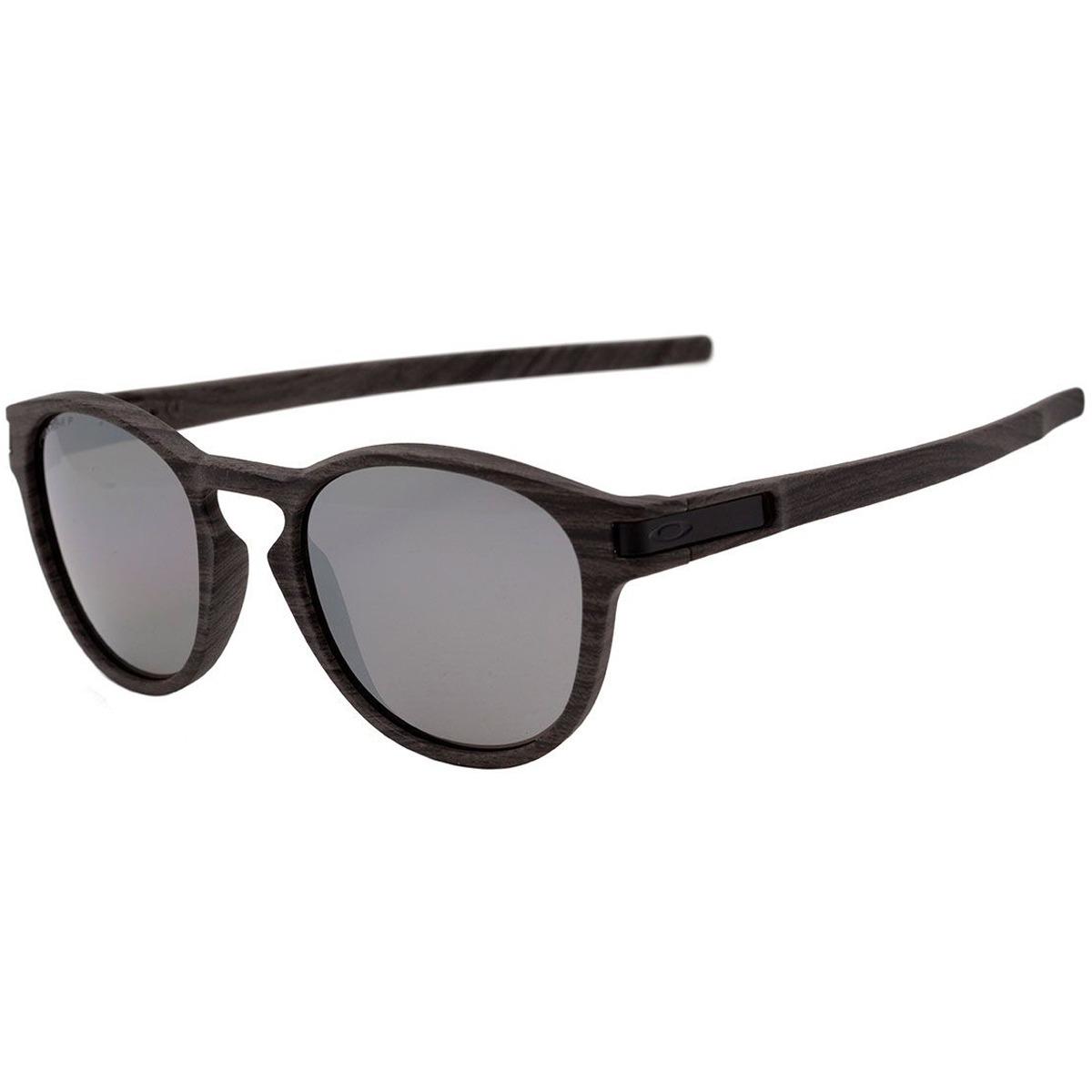 f75bd8dcf3cbe Óculos Oakley Latch Woodgrain  Lente Prizm Daily Polarizado - R  529 ...