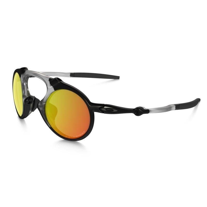 df8663320d562 óculos oakley madman - dark carbon ruby iridium polarized. Carregando zoom.