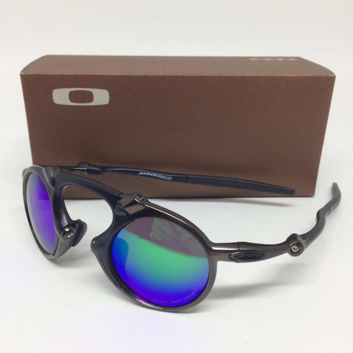 c5ece55c81fea Oculos Oakley Madman Lente Polarizada Verde - R  170,00 em Mercado Livre