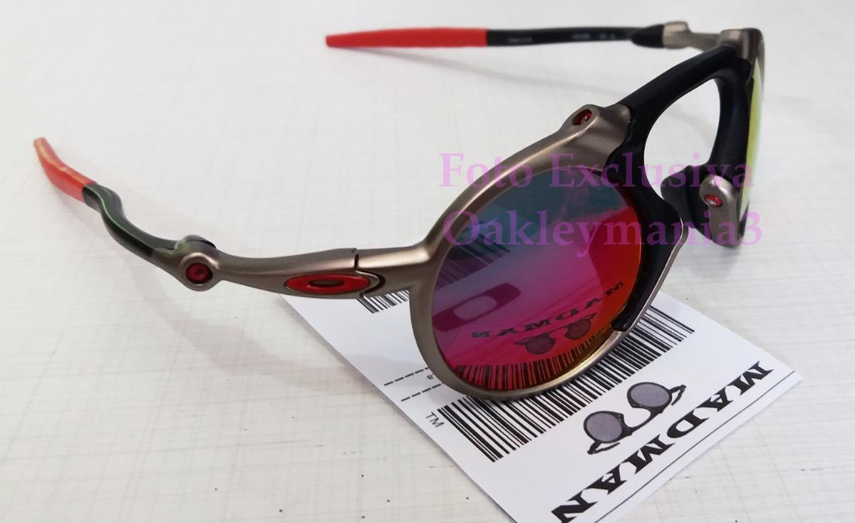 e6d139d2f52fe oculos oakley madman plasma black ducati lente dark ruby. Carregando zoom.
