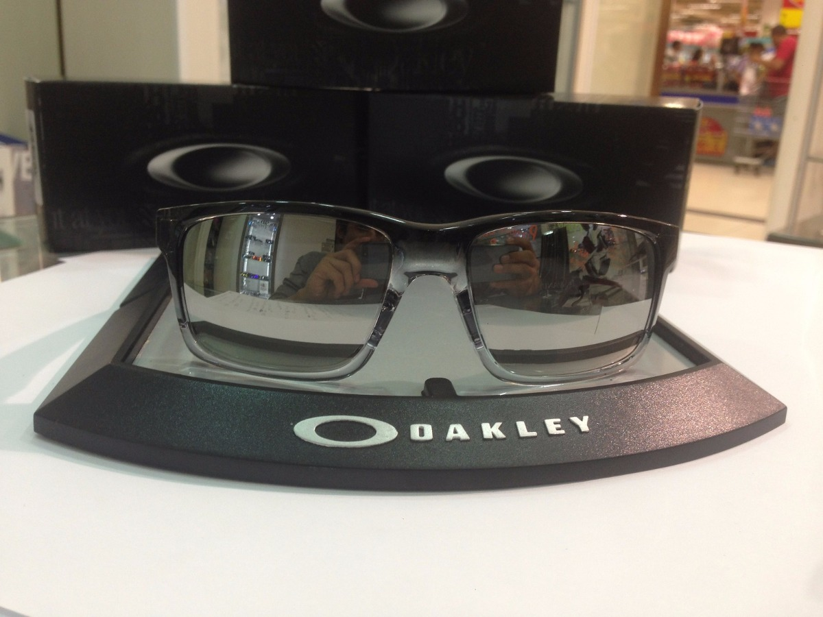 6dc1140a7fa óculos oakley mainlink espelhado oo9264-13 original. Carregando zoom.