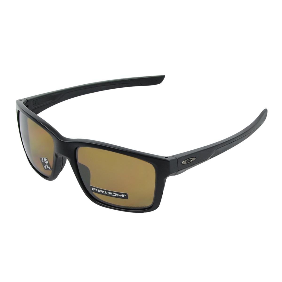 cb14c5b363607 Óculos Oakley Mainlink Matte Preto Tung - R  710,00 em Mercado Livre