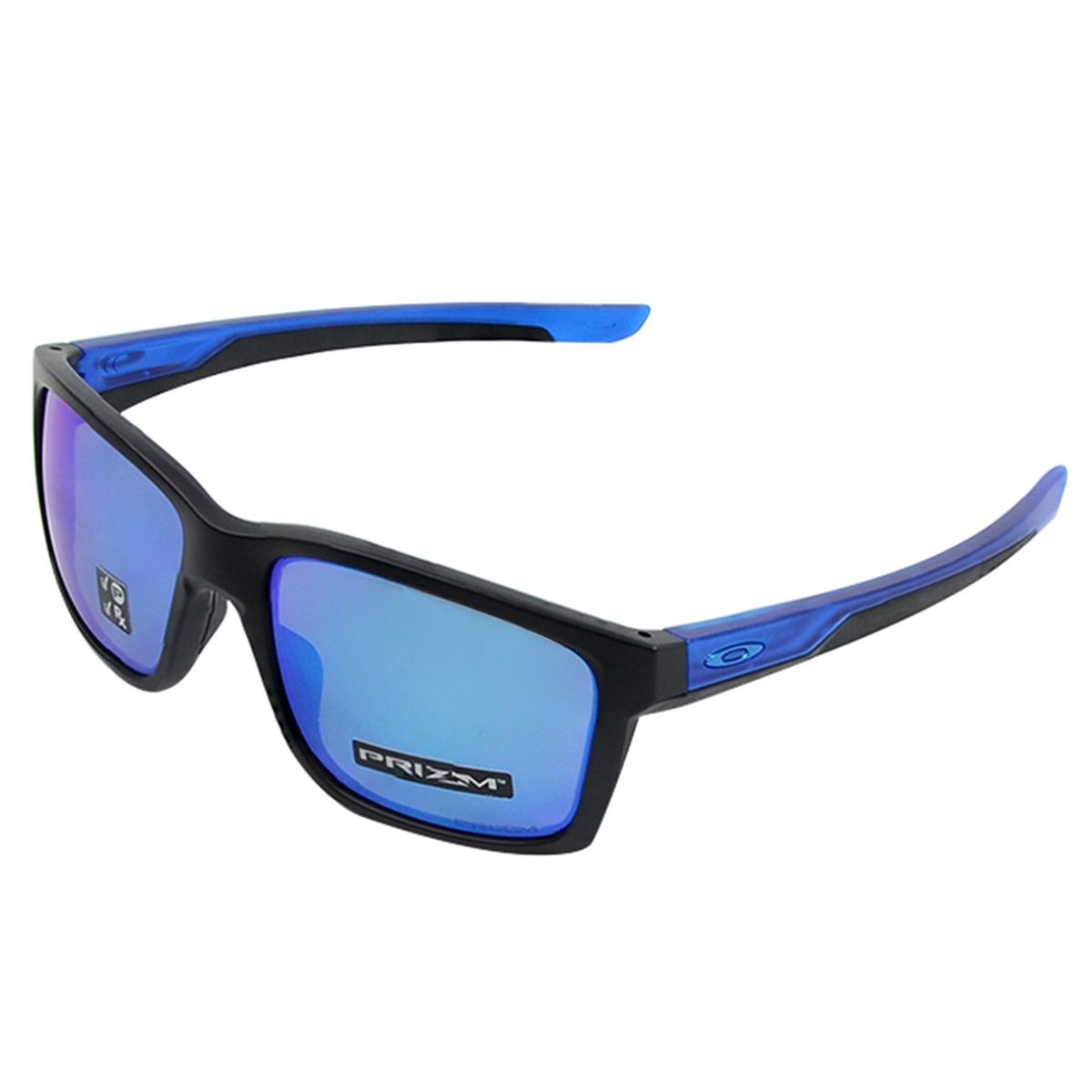 88d922ffe9be1 Óculos Oakley Mainlink Sapphire Preto Matte - R  710,00 em Mercado Livre
