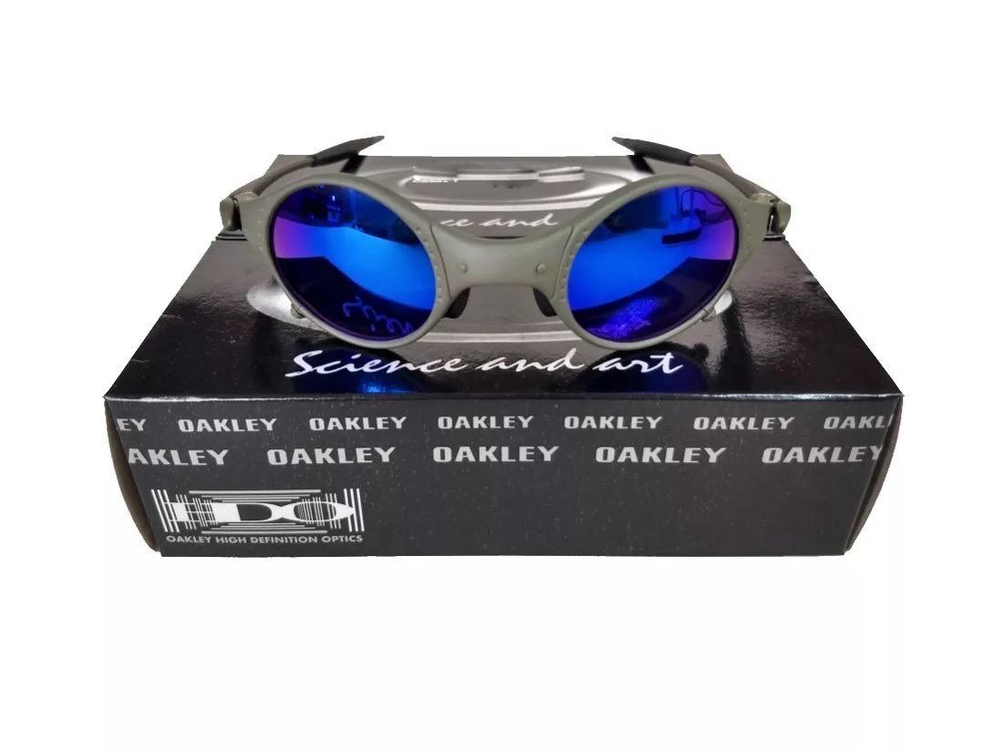 b888ccd7a oculos oakley mars medusa x-metal azul +certificado+caixa. Carregando zoom.