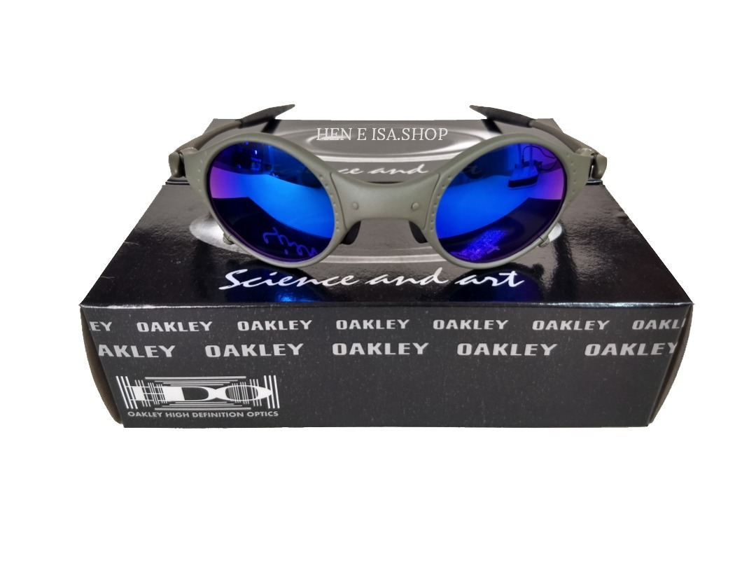 a75cf23fafcbb oculos oakley mars medusa x-metal azul +certificado+teste. Carregando zoom.
