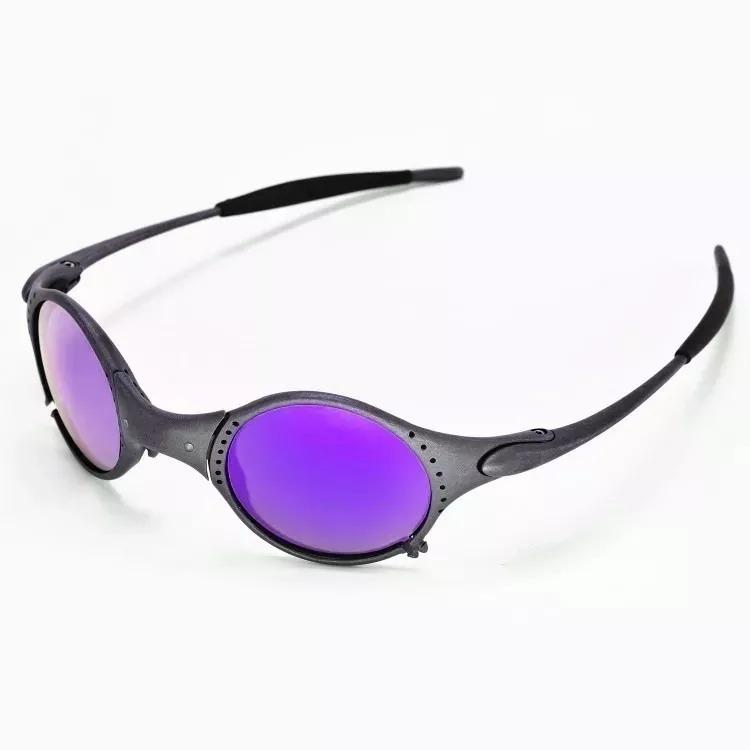 0fdea114e Óculos Oakley Mars Medusa Xmetal Lente Violet + Kit Original - R ...