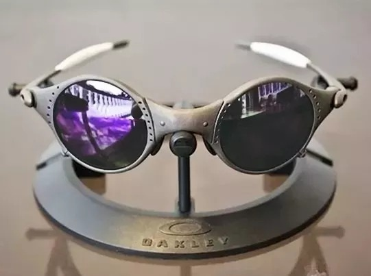 c7ee774ad Óculos Oakley Mars Medusa Xmetal Lente Violet + Kit Original - R ...