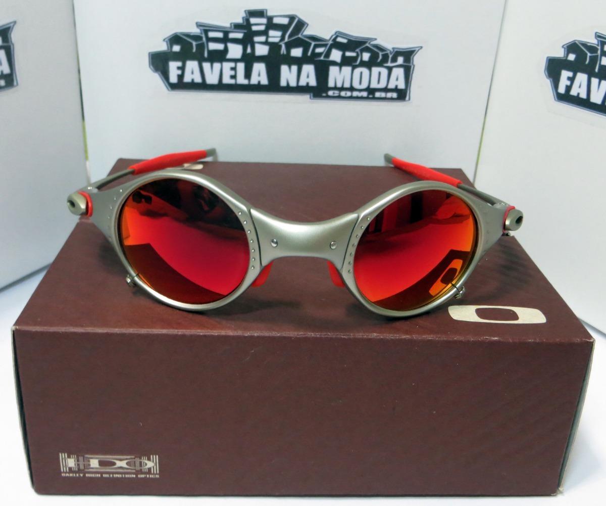 fbb173ed193c1 Óculos Oakley Mars   Plasma   Dark Ruby   Vermelha + Lentes - R  179 ...