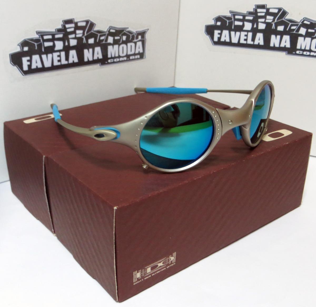 Óculos Oakley Mars   Plasma   Ice Thug   Azul Bebê + Lentes - R  179 ... 443aa15b56