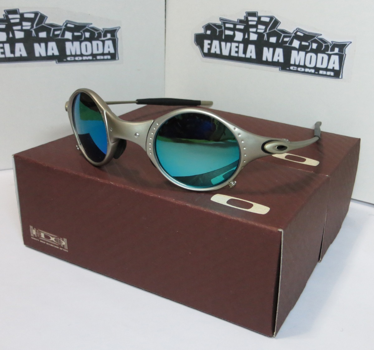edcb3f1d63cb5 Óculos Oakley Mars   Plasma   Ice Thug   + Par De Lentes - R  179,00 ...