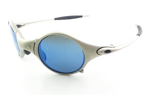 b79e0771f Oculos Oakley Mars Titanium Lente Neon Blue Original Barato - R ...