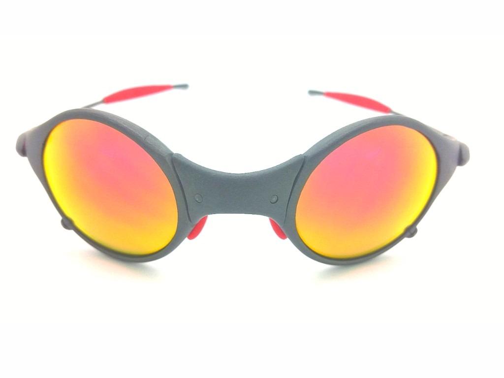 0673db6160f64 Oculos Oakley Mars X Metal Ruby Kit Borracha Vermelha - R  1.950,00 ...