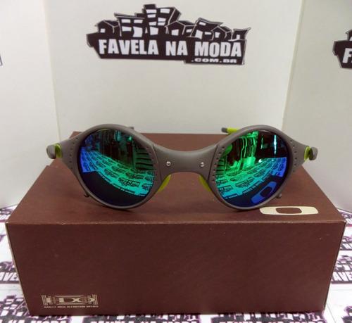 cb494d9bc6791 Óculos Oakley Mars   Xmetal   Green Jade   Verde + Lentes - R  179 ...