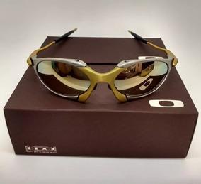 e04c3778e Oculo Oakley Romeo 2 Dourado De Sol Juliet - Óculos no Mercado Livre ...