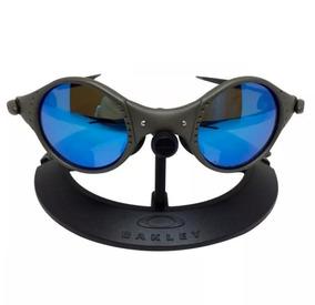 91349b2b0 Oculos Oakley Medusa Mars Azul Metal Polarizado Certificado