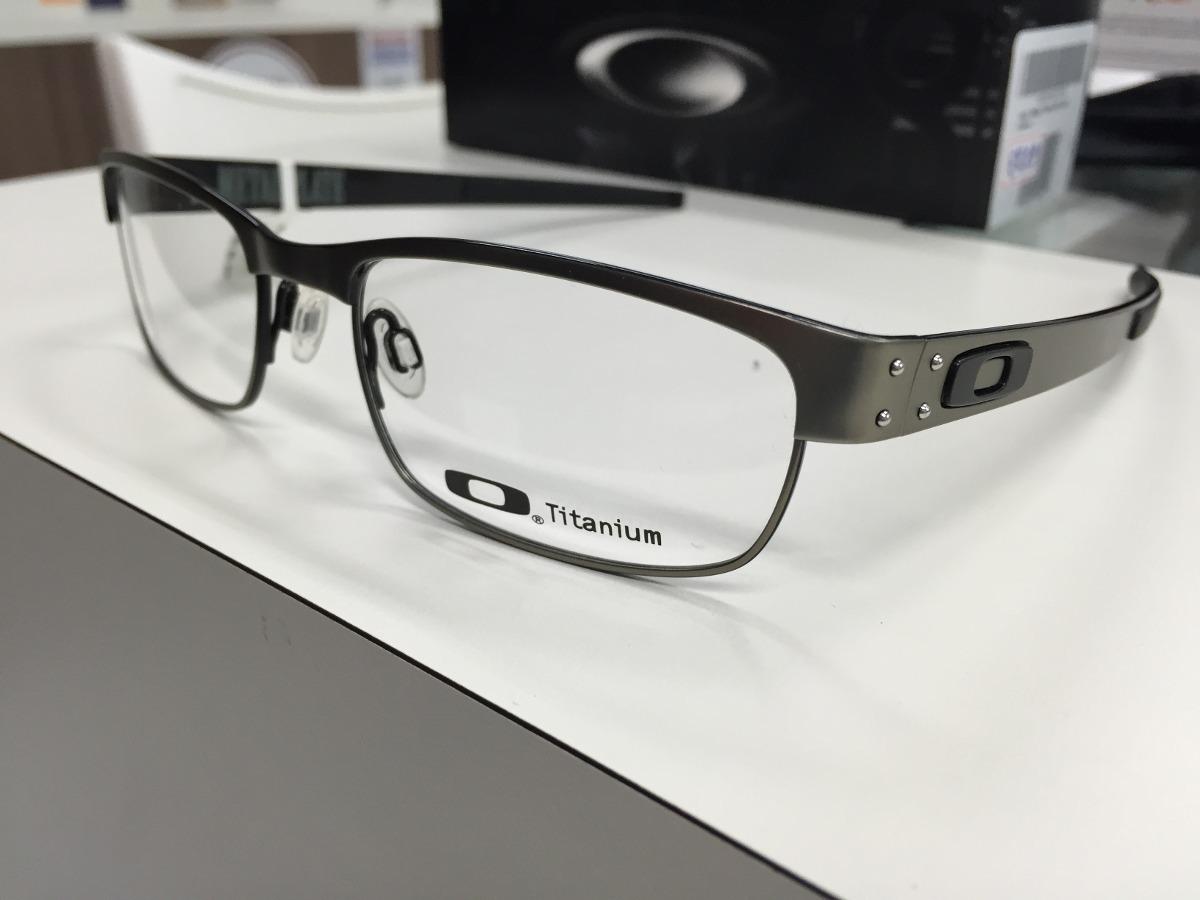 89ce6e31e90ba Armação Para óculos De Grau Oakley Evade Grafite Com Preto ...