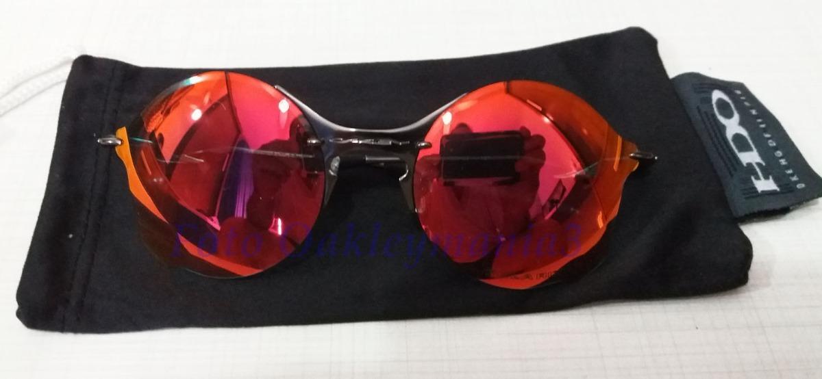 Oculos Oakley Tailend Grafite Lente Fire Ruby + Case Oakley - R  200 ... 80c433f1bd