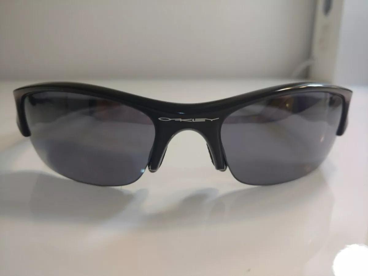 ec47551877c4f óculos oakley original flak jacket + capa de tecido original. Carregando  zoom.