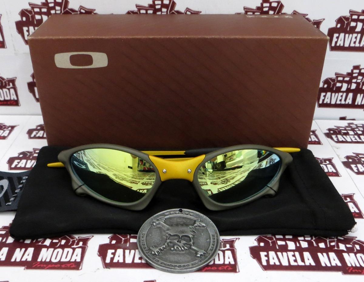7a62a0a017440 Óculos Oakley Penny   24k (xmetal)   Gold + Par De Lentes - R  179 ...