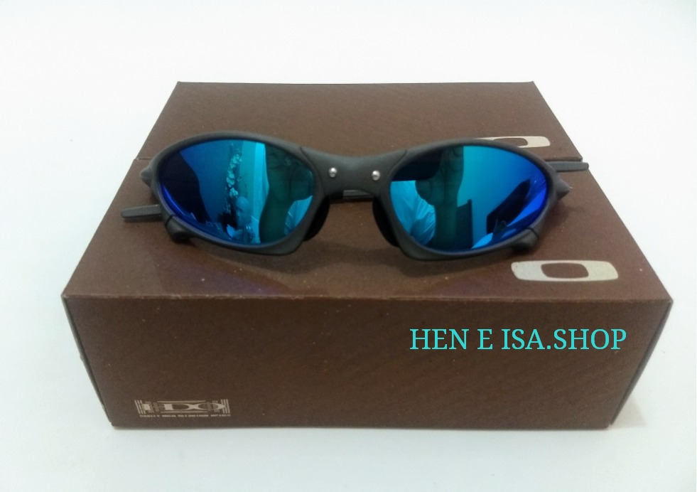 dc93e4b15228e Oculos Oakley Penny Azul Bebe + Chaves+teste 12x S juros - R  95,00 em  Mercado Livre