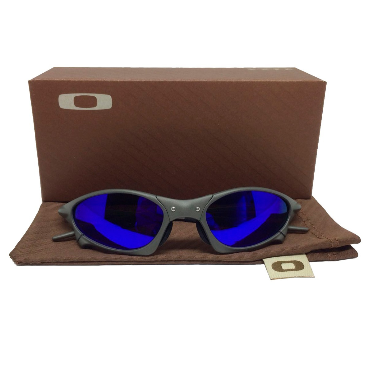 337208deaf4e4 Óculos Oakley Penny Azul Juliete 24k Polarizado Original - R  149