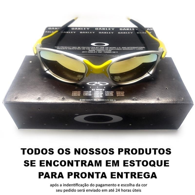 5c53502cd57fe Oculos Oakley Penny Dolblex 24k Gold Juliet Envio Já - R  84,99 em ...