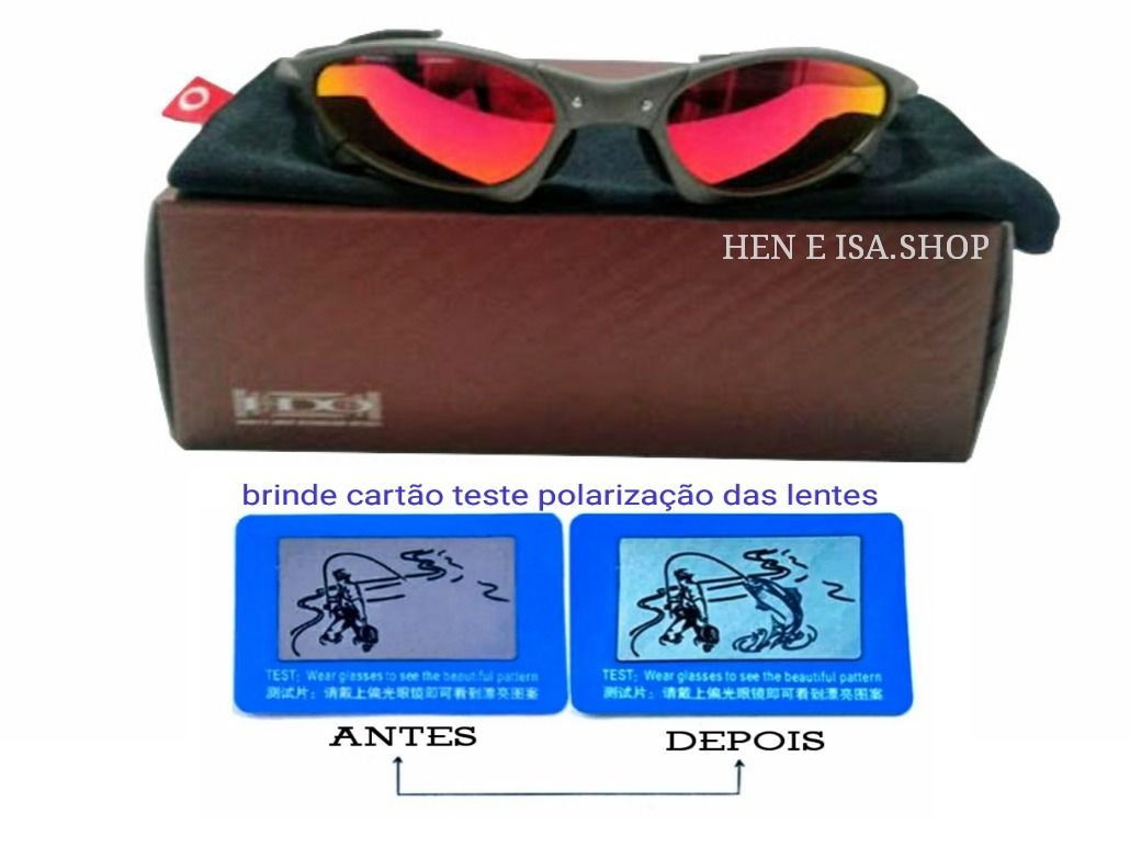 1d70200bdf352 Oculos Oakley Penny X-metal Ruby +certificado+teste - R  149,00 em ...